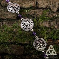 Bracelet Souffle des Druides - Améthyste