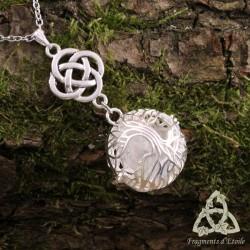 Collier Arbre aux Elfes  - Cristal de Roche