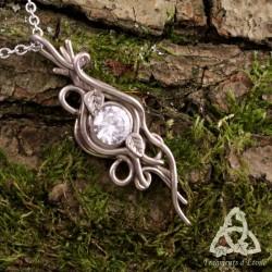 Collier Elwalen Cristal elfique