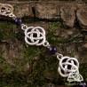 Bracelet Fylenwe Noeuds celtiques - Améthyste
