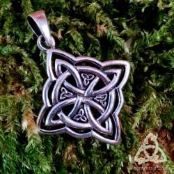 Pendentif Kardelon entrelacs celtiques Argent massif
