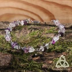 Bracelet Faerie Bohème - Fluorite