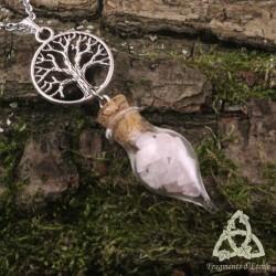 Collier Alchemya Arbre de Vie - Quartz Rose