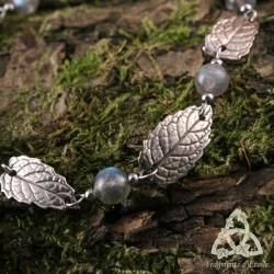 Bracelet Morelyan Feuilles de Menthe - Labradorite