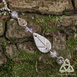 Collier Cascade elfique - Fluorite