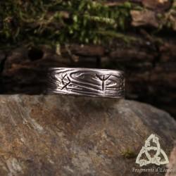 Bague Thorolf anneau runique - taille 47