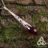 Collier Reine des Fées - Cristal Rouge