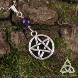 Collier Magie des Sorcières - Améthyste