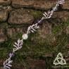 Bracelet Eldaryn Feuilles Elfiques - Fluorite