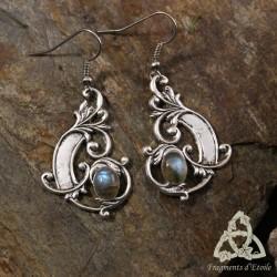 Boucles d'oreilles Aeryn Elendae  - Labradorite