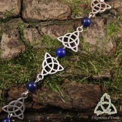 Bracelet Melora Triquetra - Lapis Lazuli