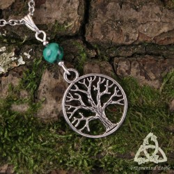 Collier Arbre de Vie - Malachite