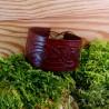 Bracelet en cuir Bran - marron