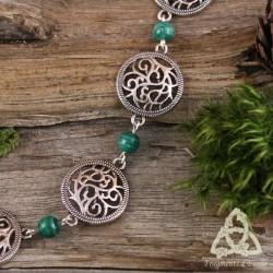 Bracelet Souffle des Druides - Malachite