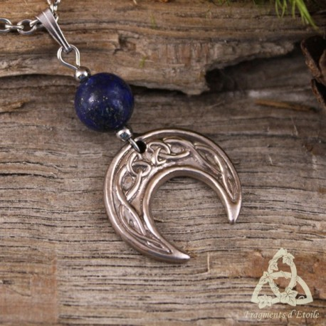 Collier Celtic Moonligth - Lapis Lazuli