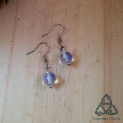 Boucles d'oreilles Nyall - Opalite