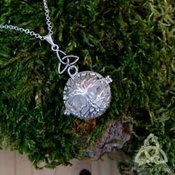 Collier Arbre aux Fées Celtique  - Cristal de Roche
