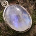Péristérite  (aussi appelée Pierre Lune arc-en-ciel)